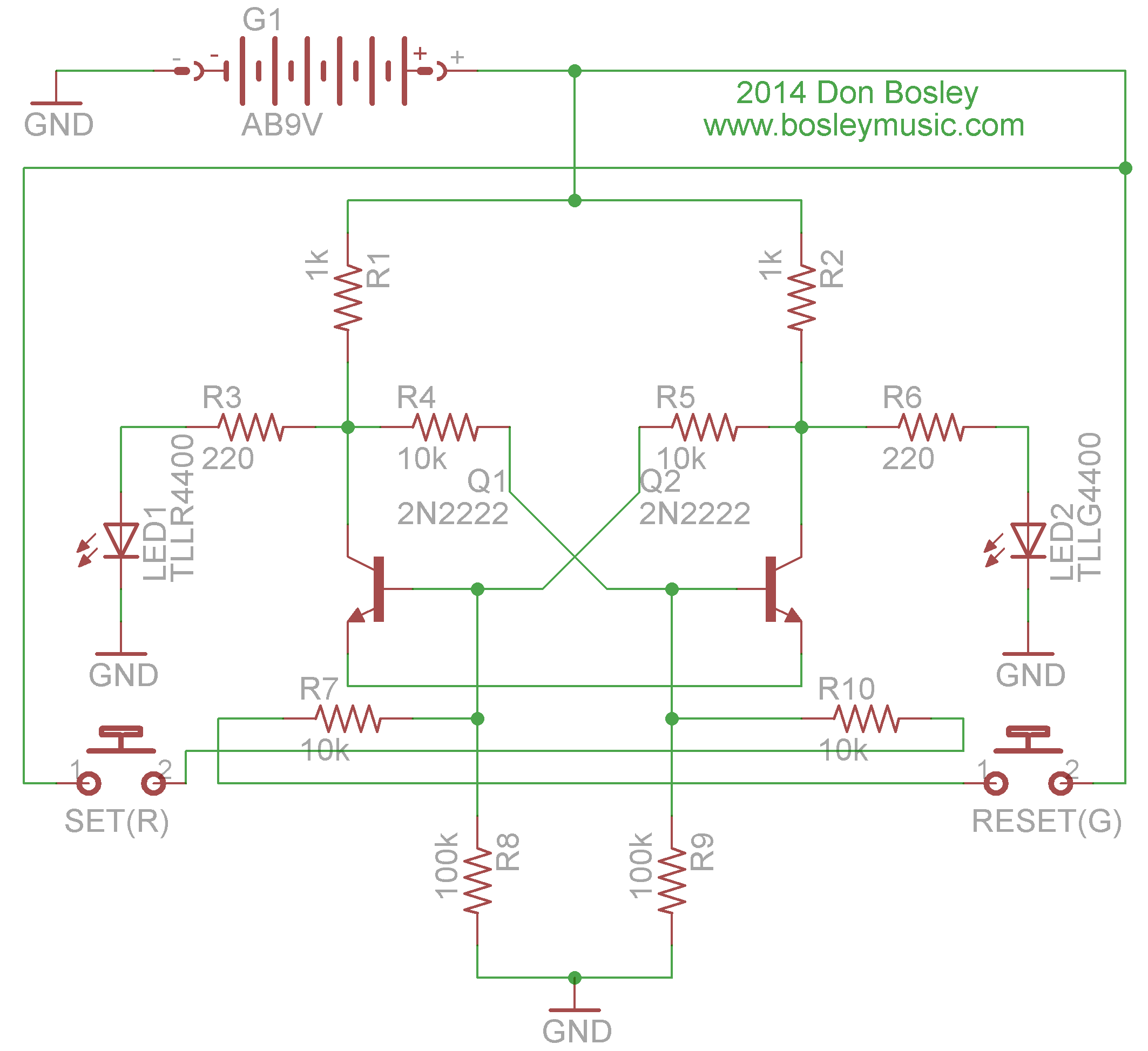 Don Bosley : CAD and PCB Work